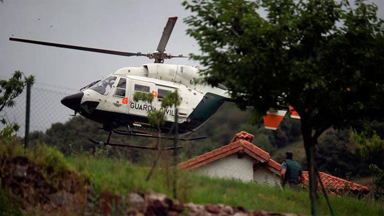 Se da a la fuga el hombre que se atrincheró y tiroteó a la Guardia Civil en Turieno (Cantabria)