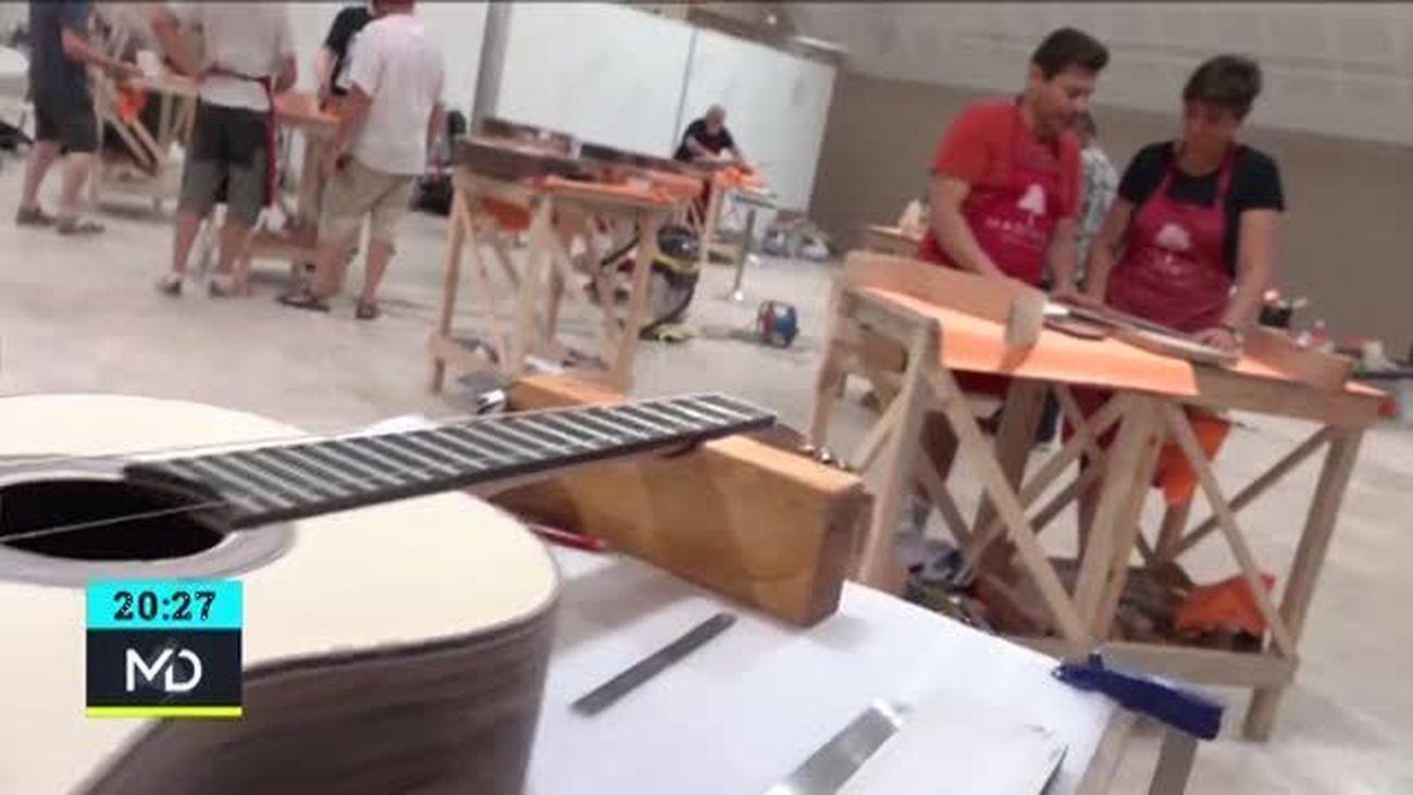 Fabrica tu propia guitarra en la sierra