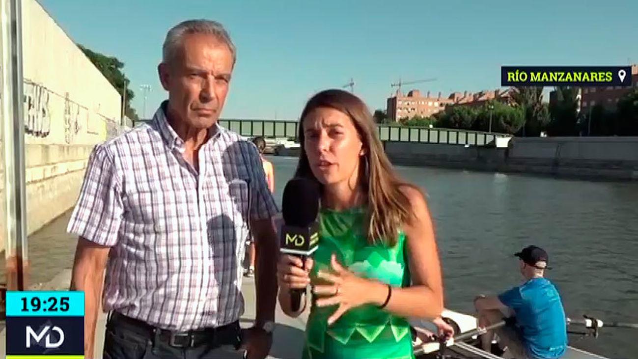 """Pedro Arévalo, presidente de los remeros de Madrid: """"Valmayor no es ninguna opción para nosotros"""""""