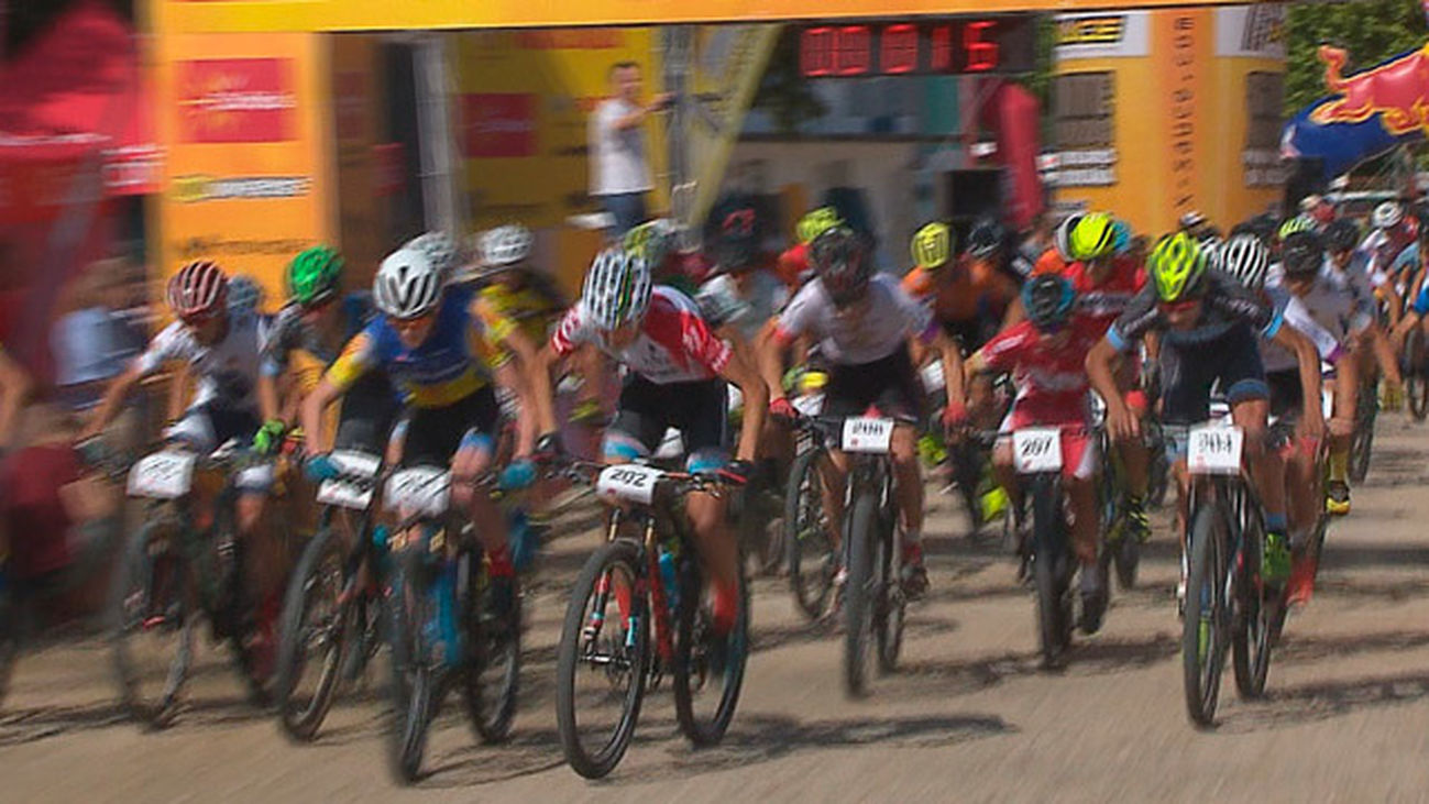 El Torneo de España BTT lleva a Moralzarzal a 500 ciclistas de toda España