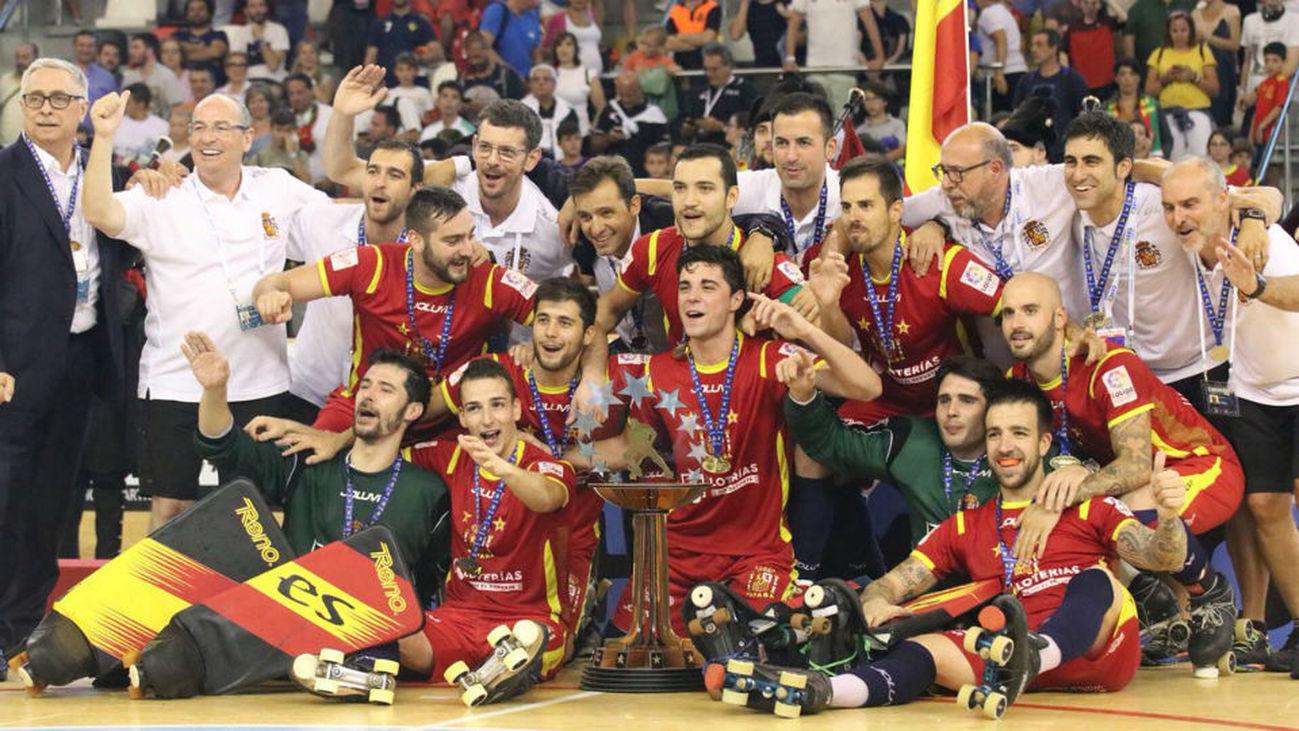6-3. España, campeona de Europa de hockey patines por 17ª vez