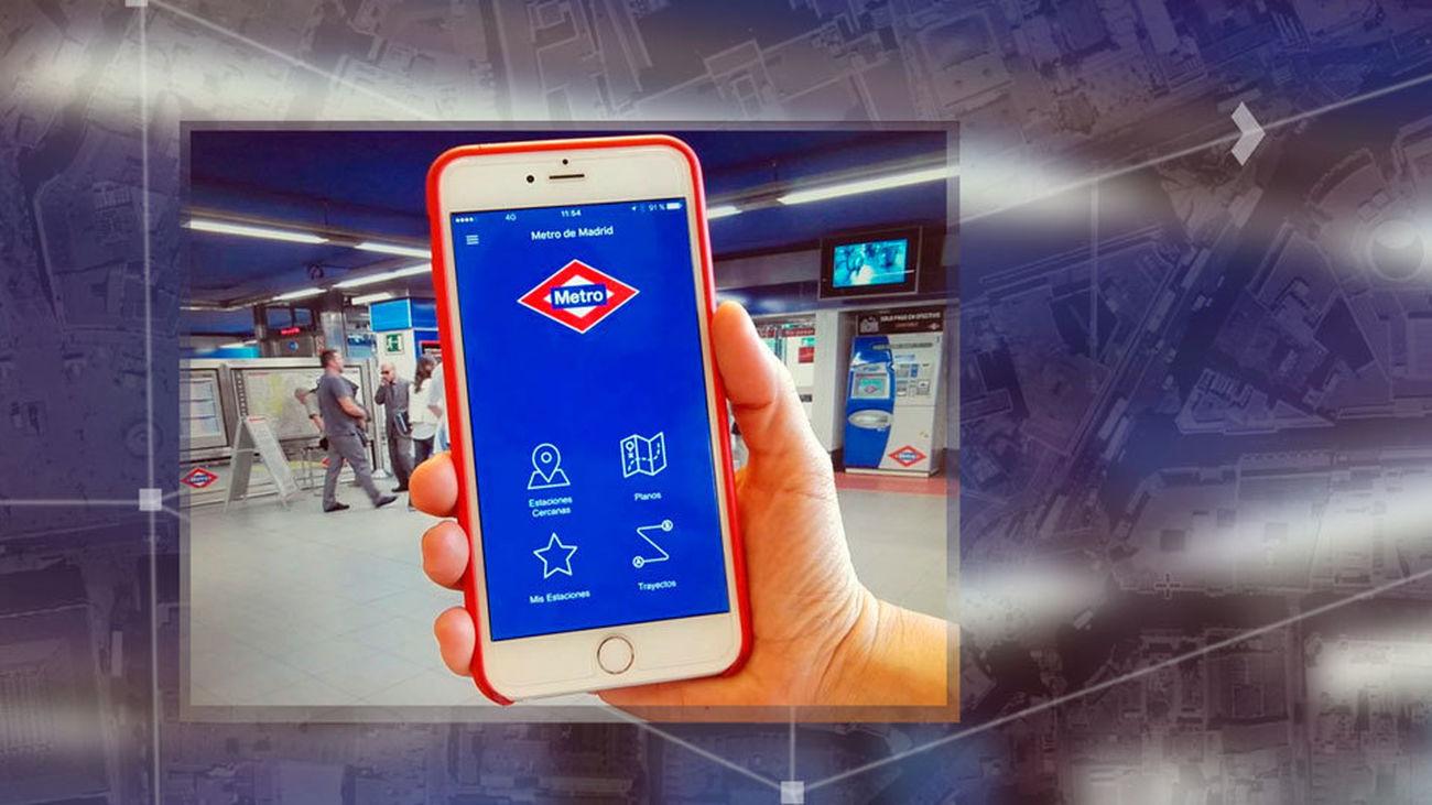 Aplicación de Metro de Madrid