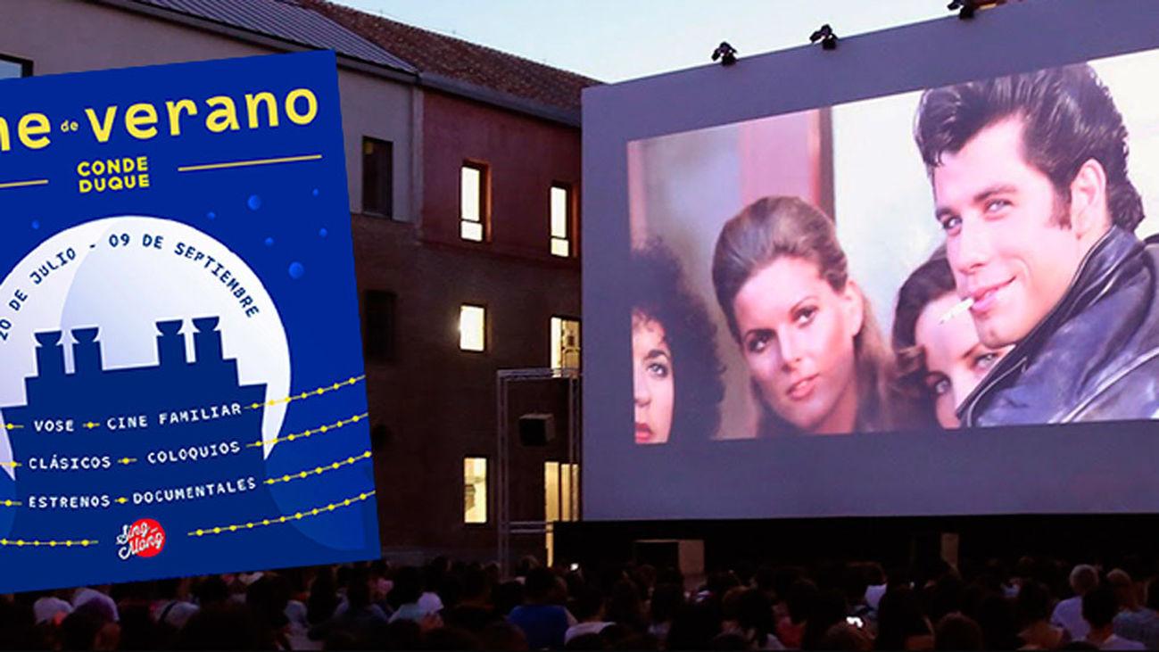 Cine de verano en Conde Duque