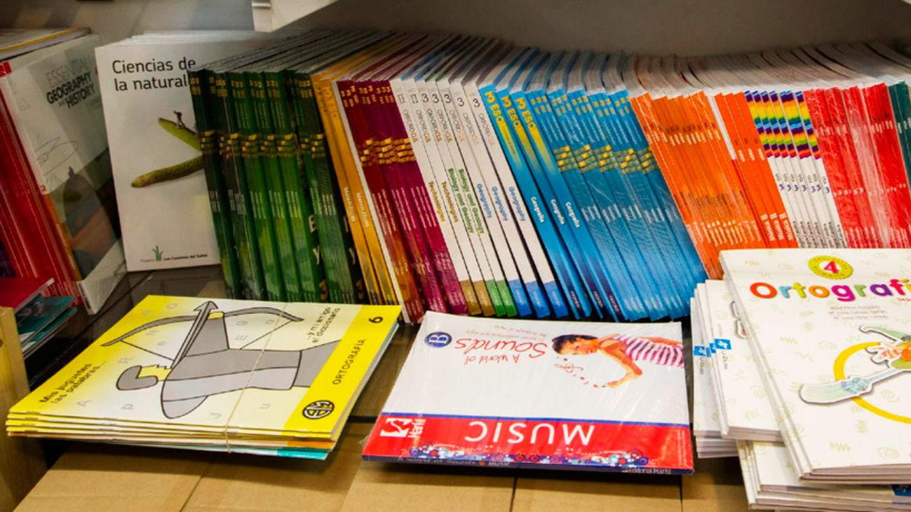 Intercambio de libros escolares