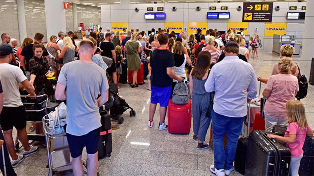 Normalidad y 29 vuelos cancelados en España por la huelga de Ryanair