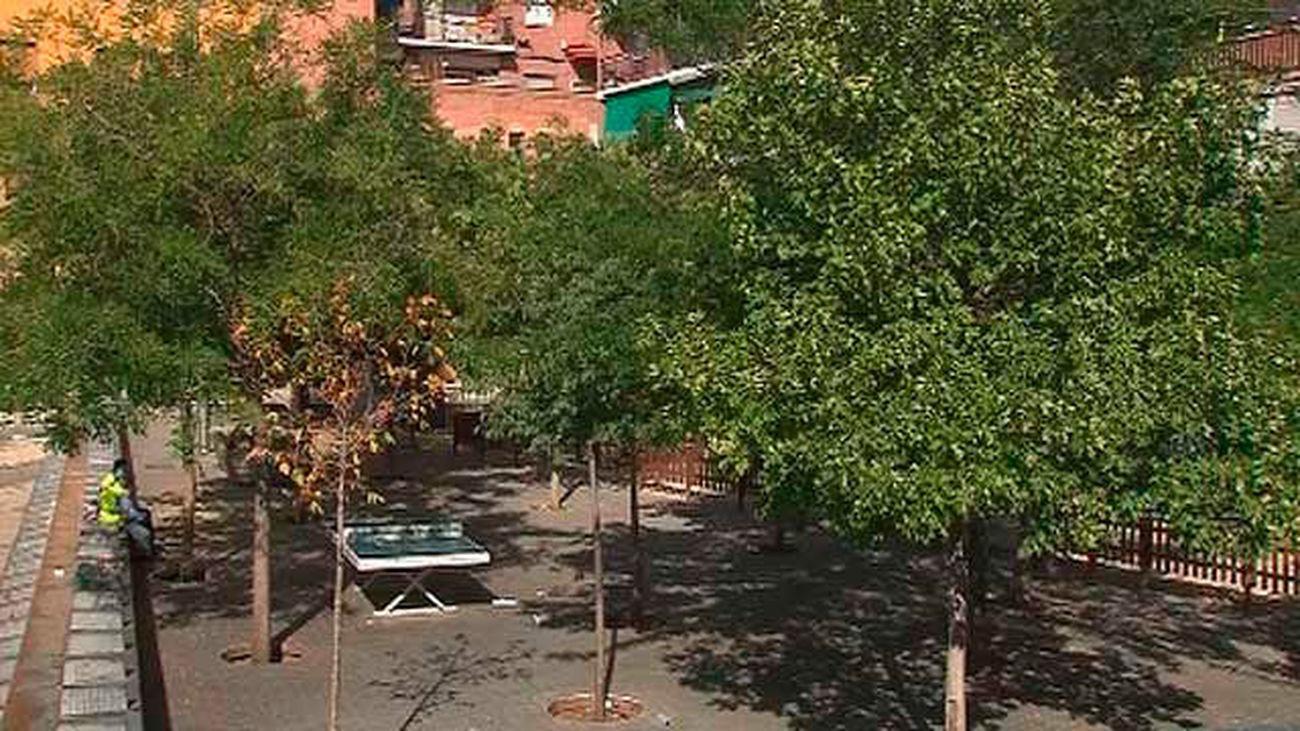 Arboles y más espacios peatonales llegarán a las plazas de Lavapiés