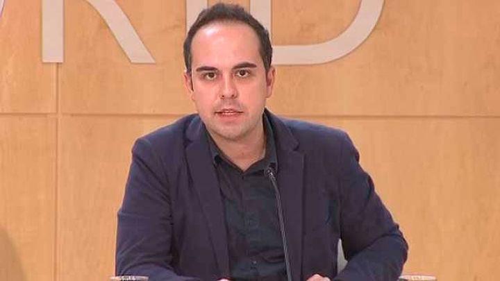"""Calvo: """"La lista de Julio Rodríguez es un pulso a Carmena"""""""