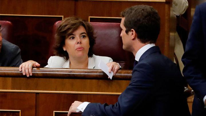 El equipo de Santamaría rechaza la oferta de tener solo dos puestos en la dirección de Pablo Casado