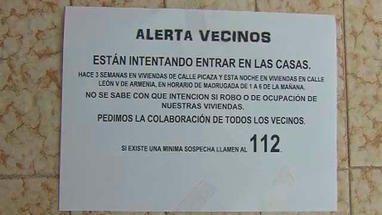 Alerta por robos en el distrito de Usera