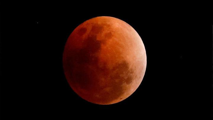 El eclipse parcial de Luna se podrá ver desde el Planetario