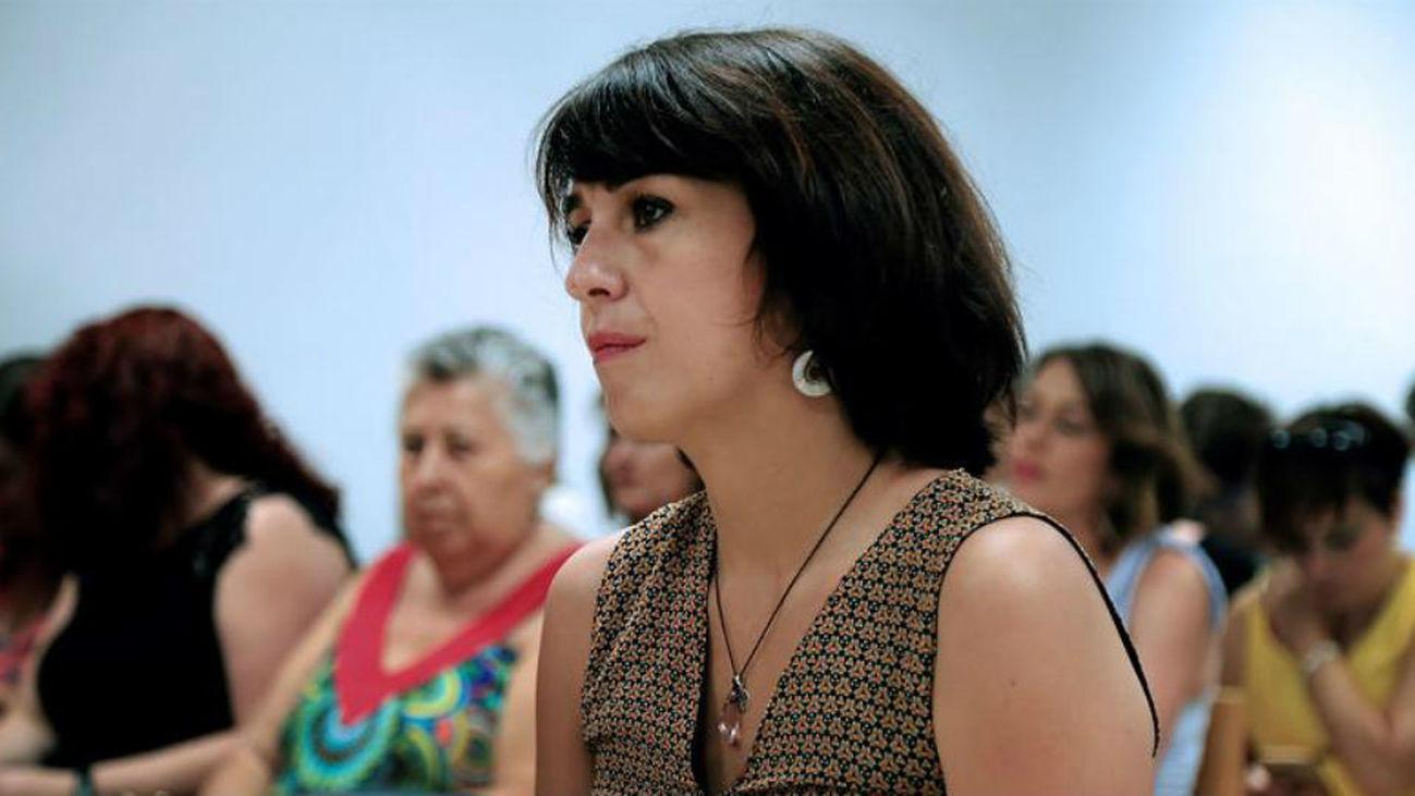 Juana Rivas, condenada a cinco años  de prisión y a seis sin sus hijos