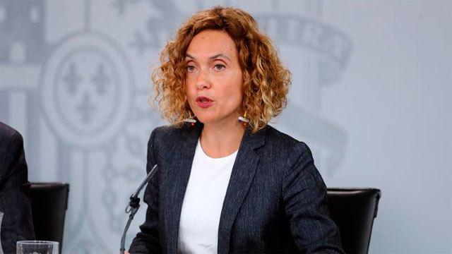 La ministra de Política Territorial y Función Pública, Maritxel Batet