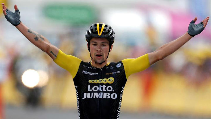 Tour: Roglic gana el 'etapón' entre Lourdes y Laruns