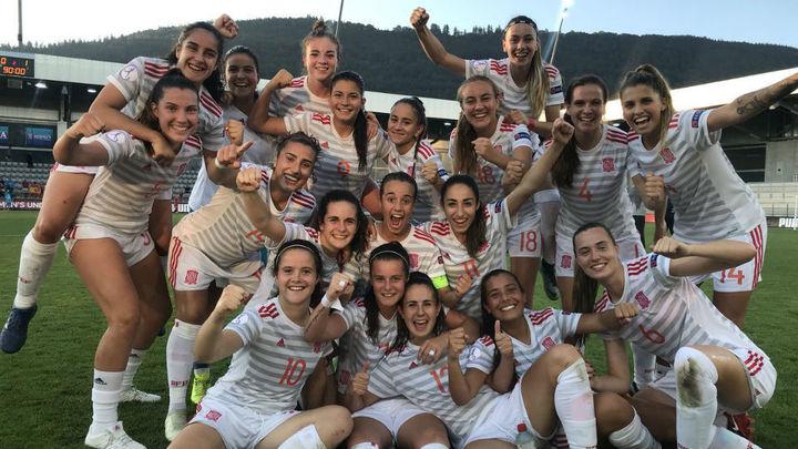 0-1. La selección española femenina sub'19, a la final del Europeo