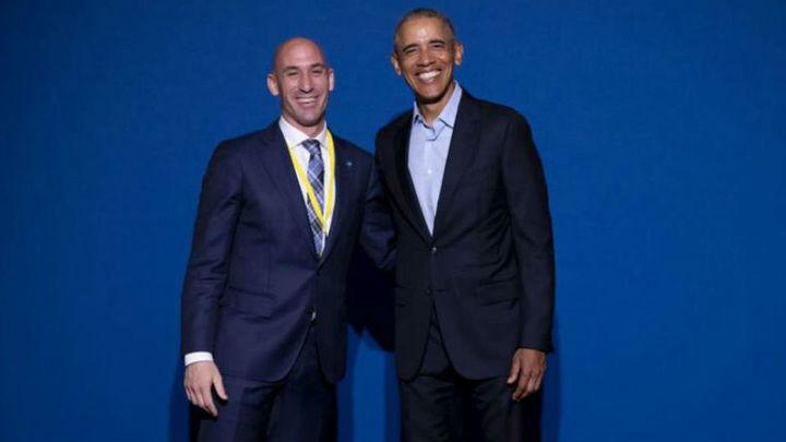 """Rubiales, sobre Lopetegui: """"Obama me dijo que en ocasiones hay que actuar"""""""