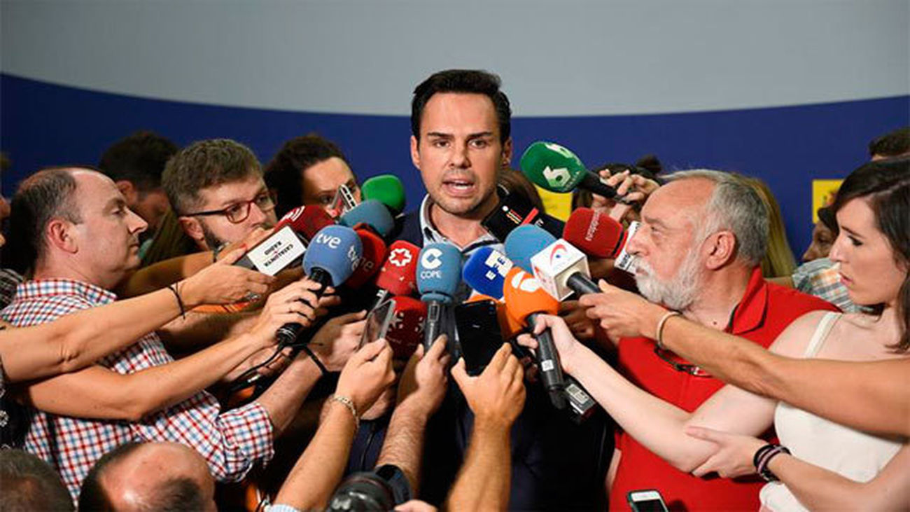 El presidente Unauto (patronal del sector de VTC), Eduardo Martín