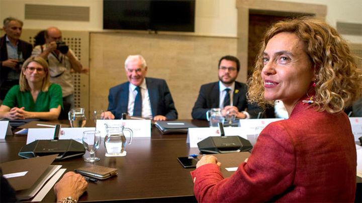 Gobierno y Generalitat constatan sus discrepancias pero mantendrán el diálogo vía comisiones