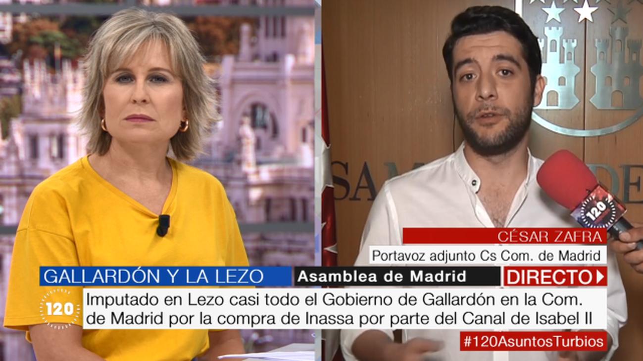 """César Zafra, sobre la polémica de Gallardón: """"Tarde o temprano te acaban pillando"""""""