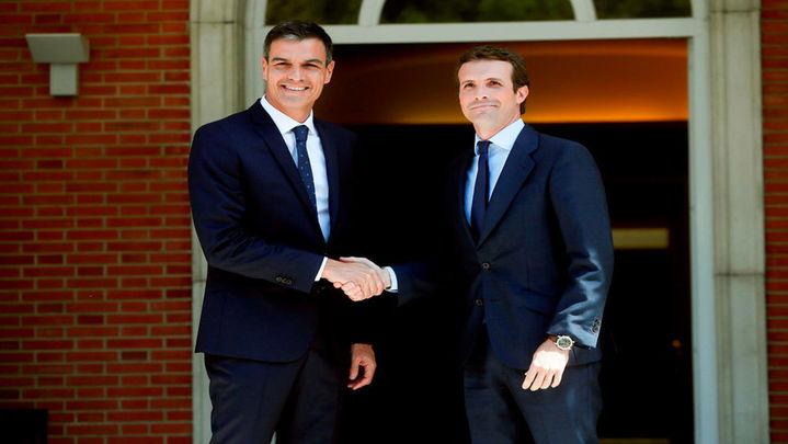 ¿Cree que la reunión de Pedro Sánchez y  Pablo Casado propiciará futuros acuerdos entre gobierno y oposición ?