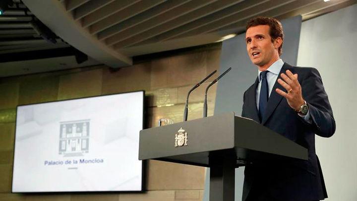 """Casado hará """"una oposición firme pero también responsable"""" porque no ve """"un proyecto para España"""""""