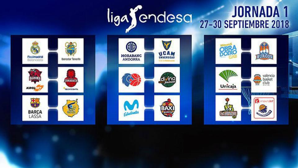 Primera jornada de Liga ACB