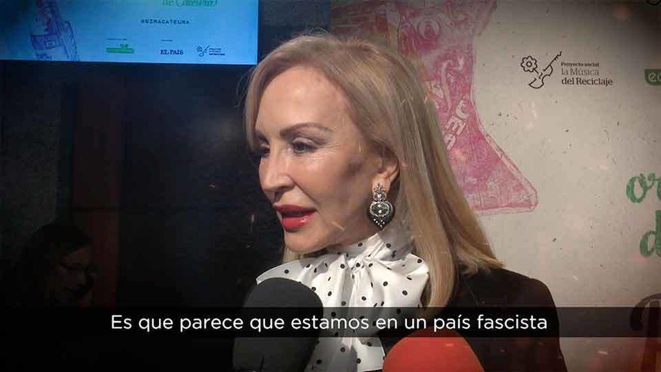 Carmen Lomana envuelta en una nueva polémica