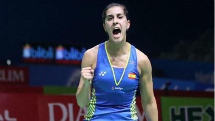 Carolina Marín se mete en su tercera final en un Mundial de bádminton