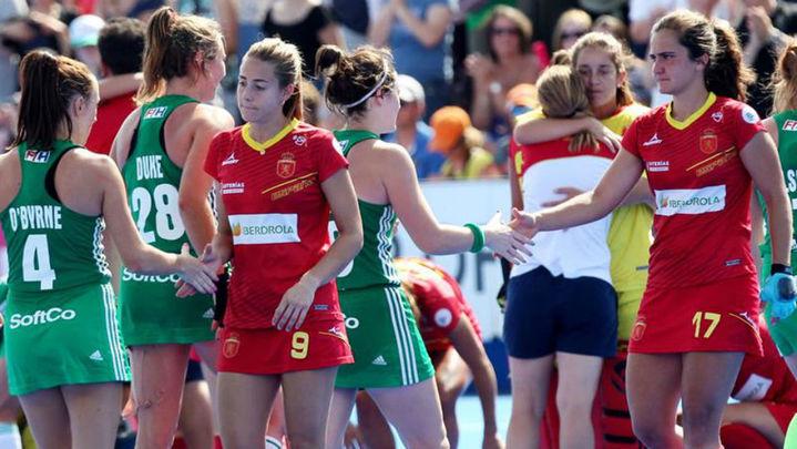 1-1 (3-2). España, fuera de la final del Mundial tras caer ante Irlanda