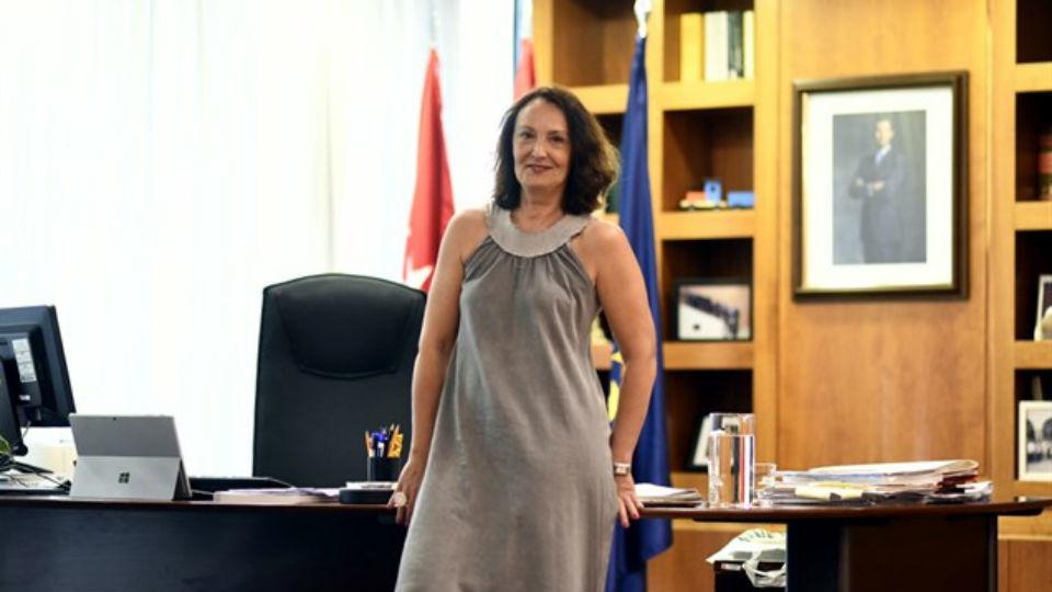 La consejera de Justicia de la Comunidad de Madrid, Yolanda Ibarrol