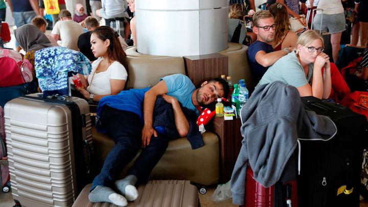 Unos 200 españoles intentan abandonar Lombok tras el terremoto de magnitud 6,9