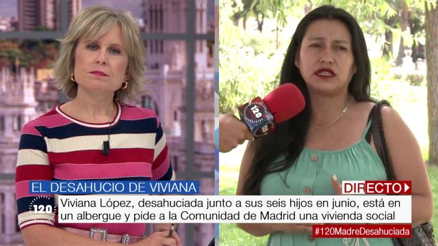Viviana López, una madre desahuciada
