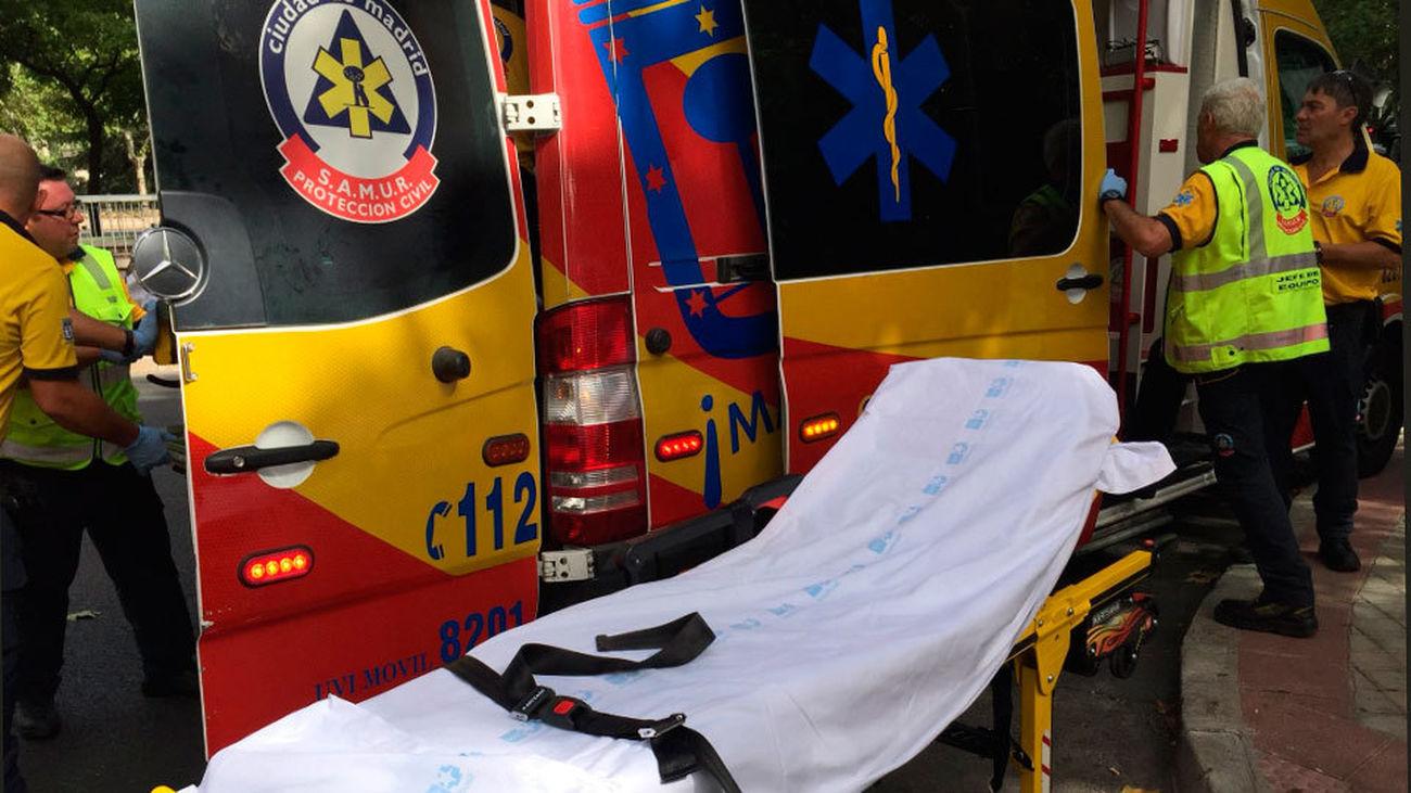 Un hombre de 49 años, grave tras sufrir un golpe de calor en Madrid