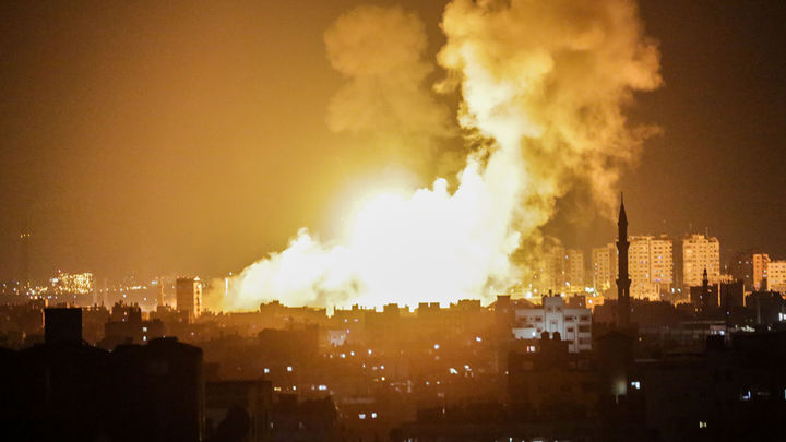 Tres muertos en Gaza tras los ataques aéreos de Israel a territorios en control de Hamas