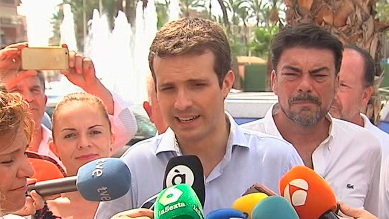 """Casado: El PP se opondrá """"frontalmente"""" al acercamiento de presos de ETA"""