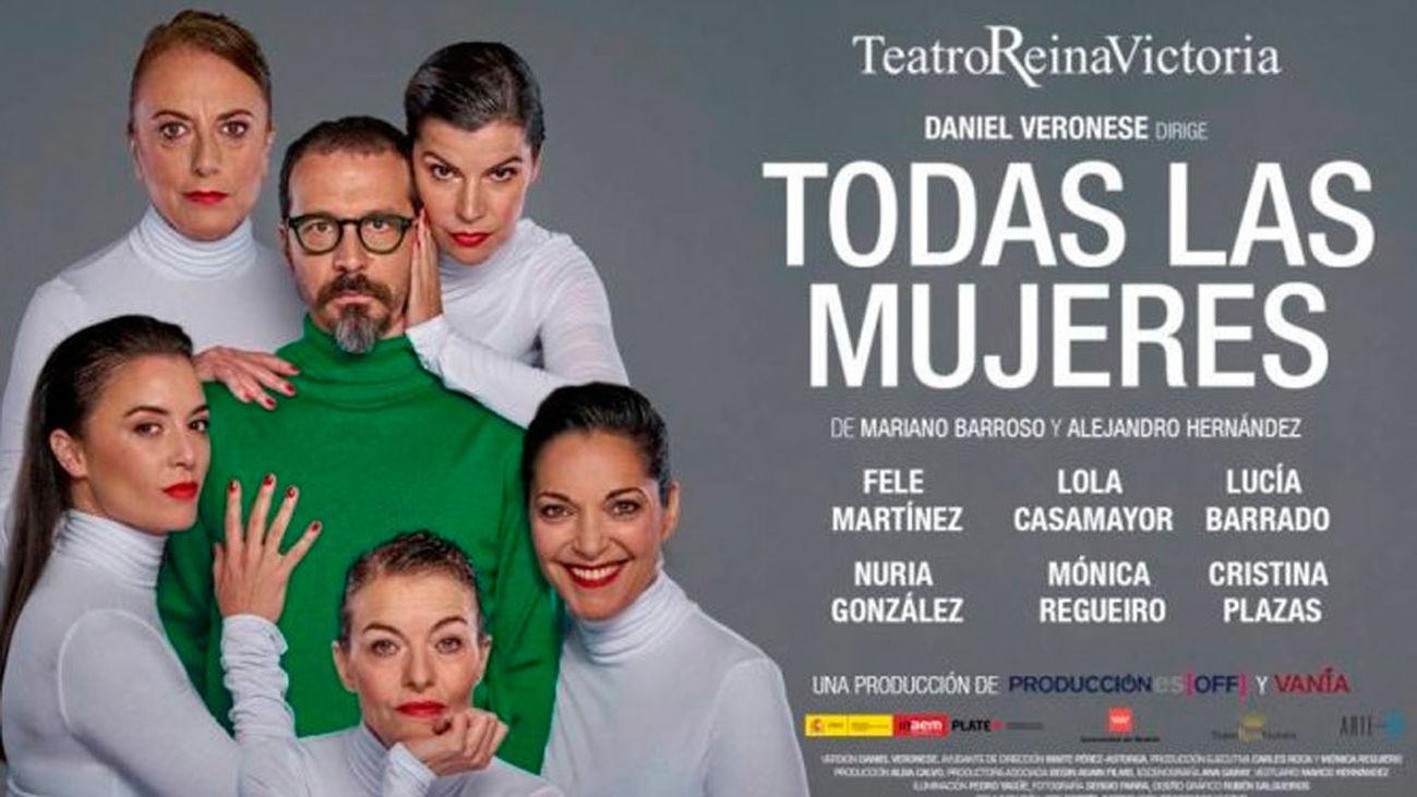 """""""Todas las mujeres"""" en el teatro Reina Victoria"""