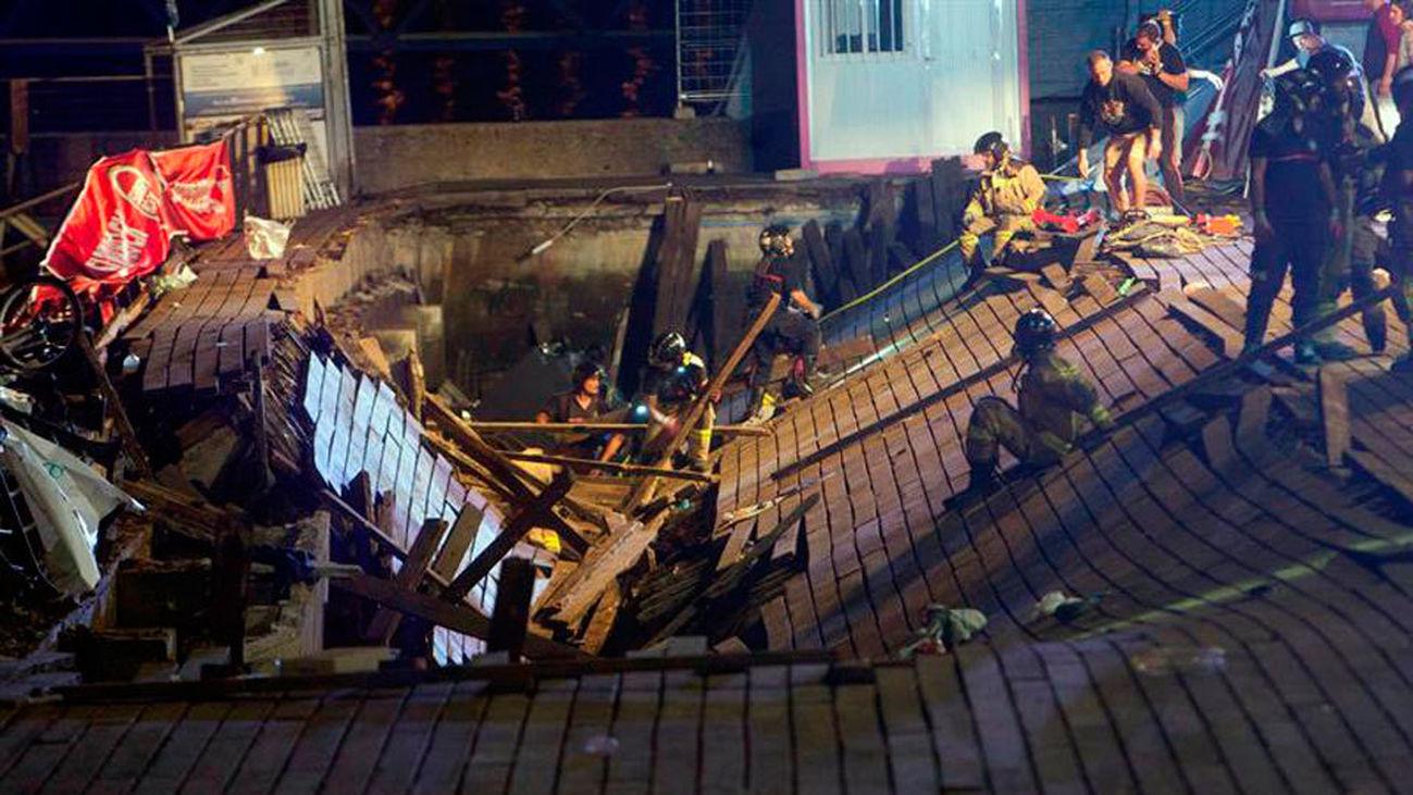 Permanecen ingresados siete de los 316 heridos en Vigo, cinco de ellos en estado grave