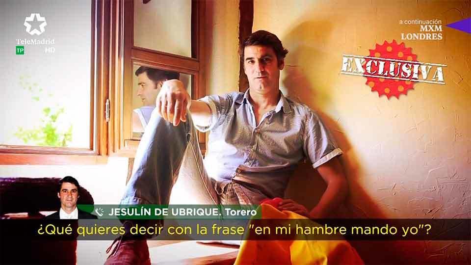 Entrevistamos en exclusiva a Jesulín de Ubrique
