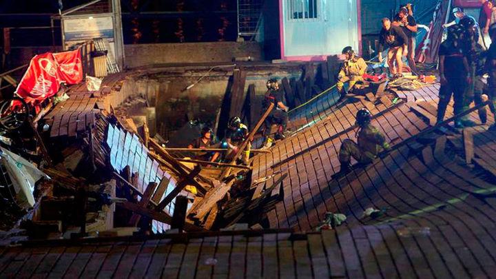 El juzgado investiga un delito de lesiones imprudentes por el derrumbe de Vigo