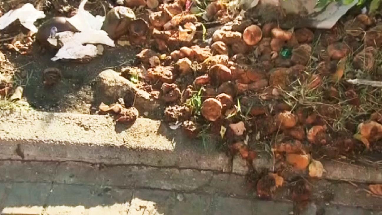 Los vecinos de Vallecas denuncian la suciedad que deja el mercadillo