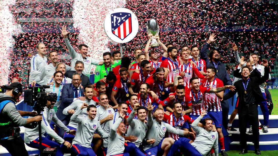 24. El Atlético conquista su tercera Supercopa de Europa