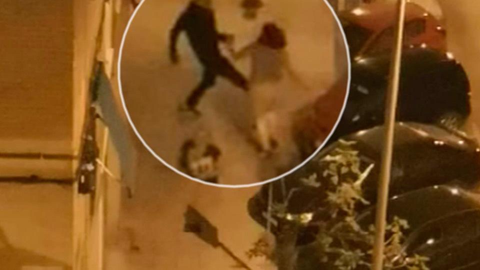 Imágenes en exclusiva de la brutal agresión a una mujer en San Fernando de Henares
