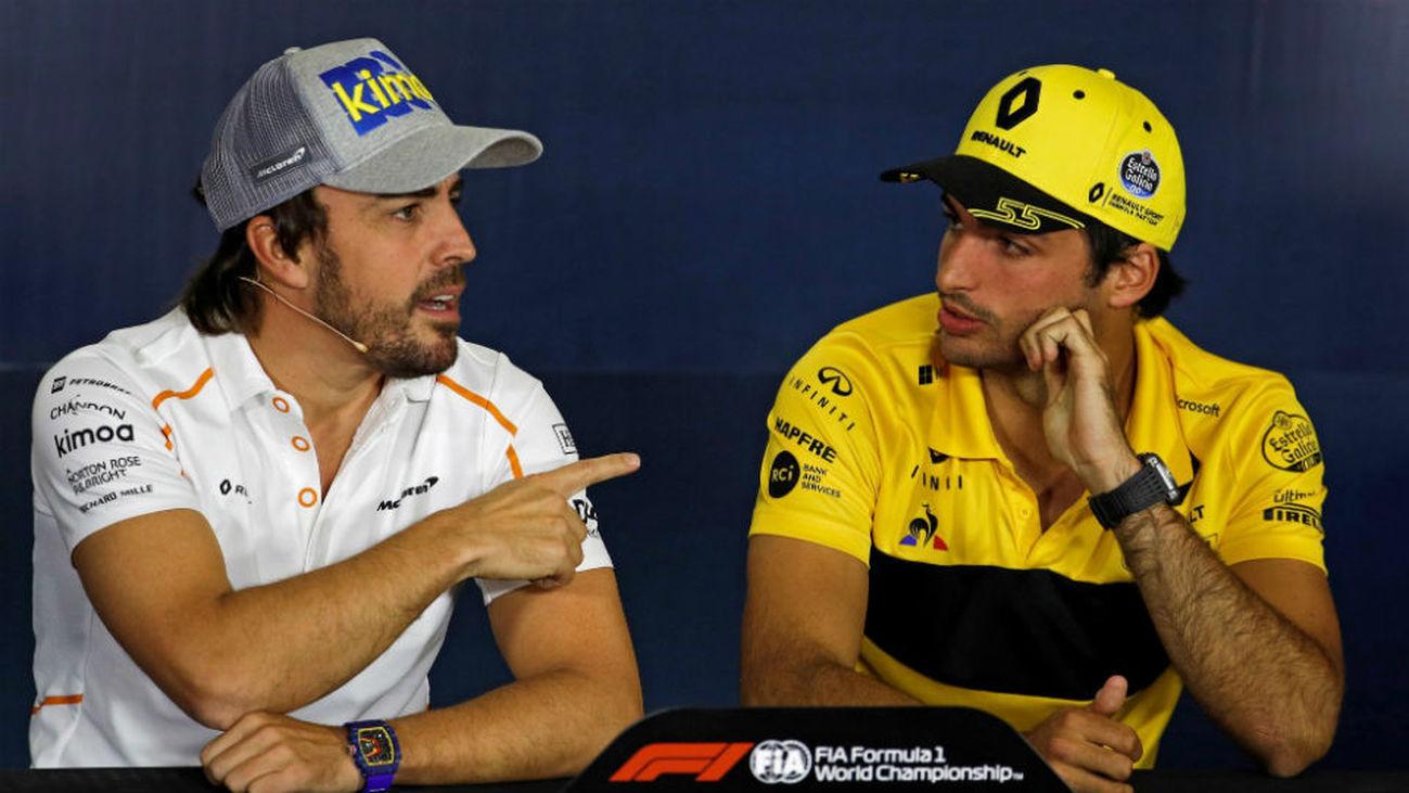 Carlos Sainz sustituirá a Fernando Alonso en McLaren a partir de 2019