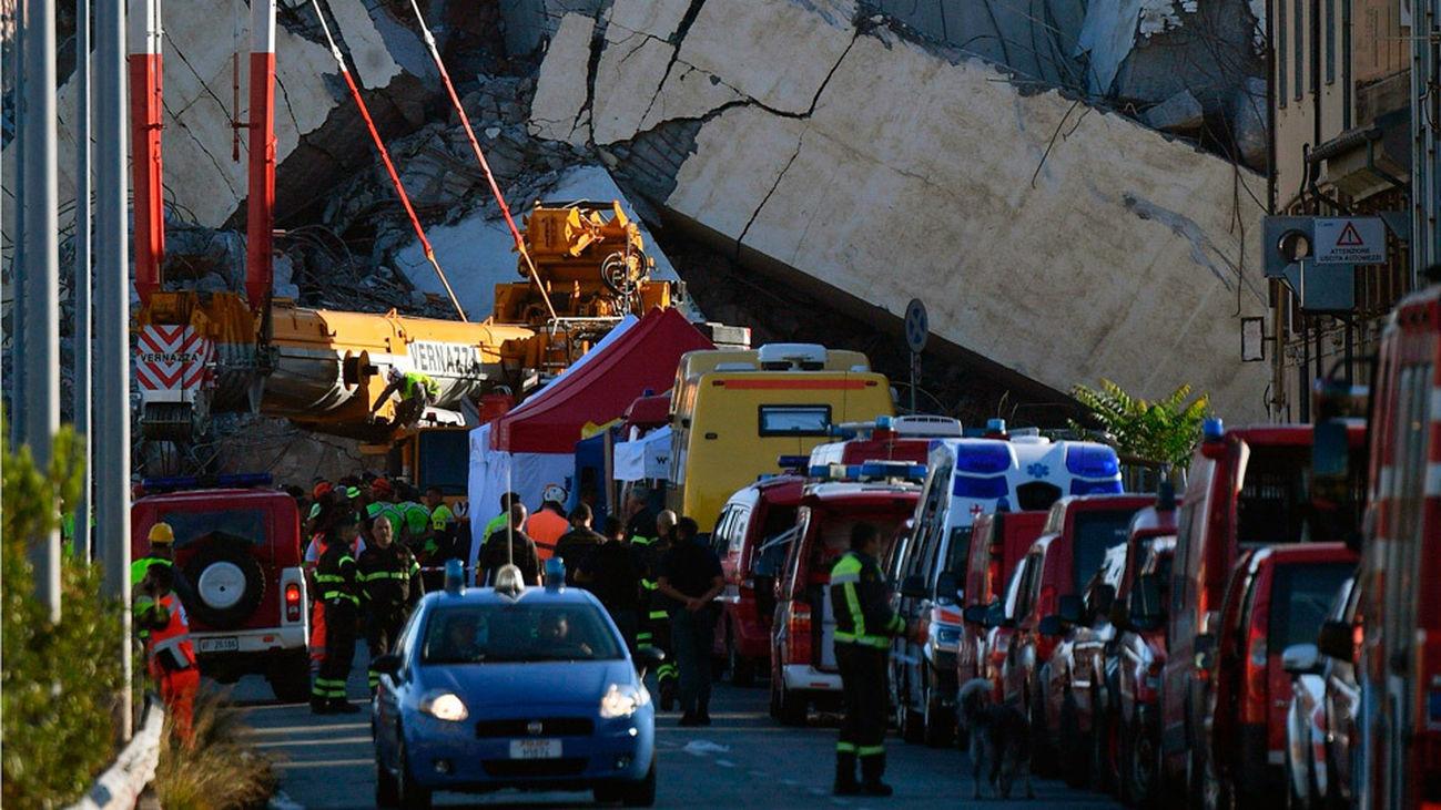 El Gobierno italiano y la concesionaria en Génova se enzarzan en acusaciones