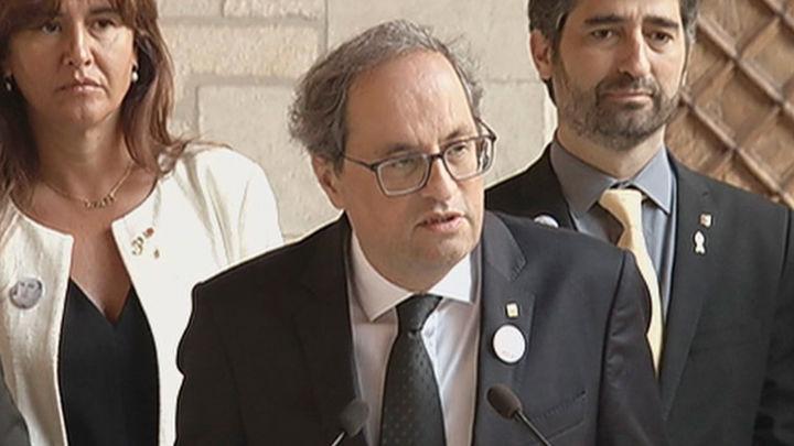 Torra pide a Interior que actue contra los agentes que insultan o agreden a independentistas