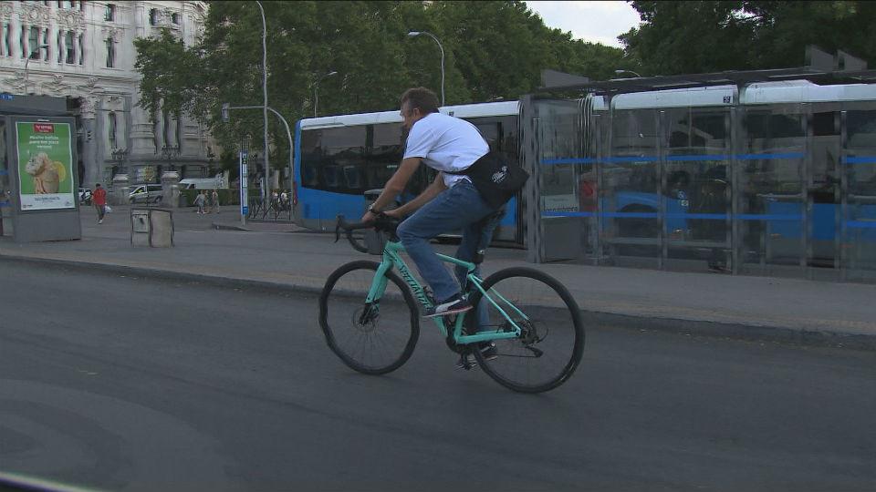 Centro vuelve a convertirse en la zona con más accidentes de bici