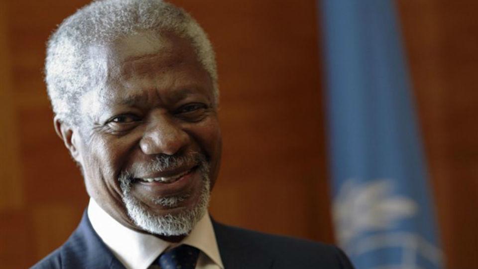 Muere a los 80 años el ex secretario general de la ONU, el ghanés Kofi Annan