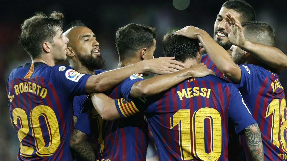 3-0. El Barcelona, liderado por Messi, debuta con triunfo ante el Alavés