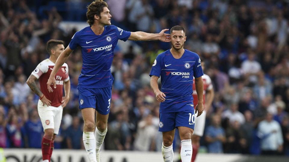 Hazard dice que por ahora no irá al Madrid y que está feliz en el Chelsea