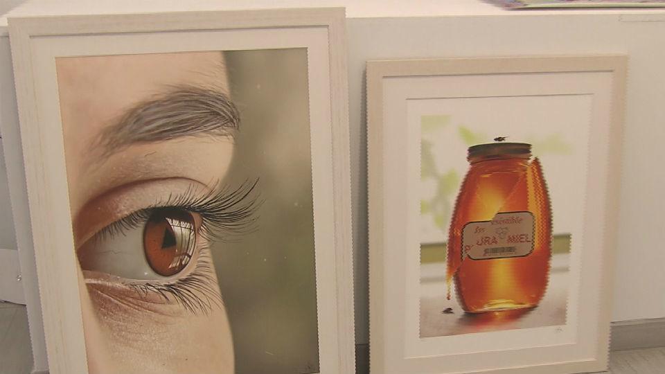 """El arte """"a dedo"""". Pintura digital en Madrid"""