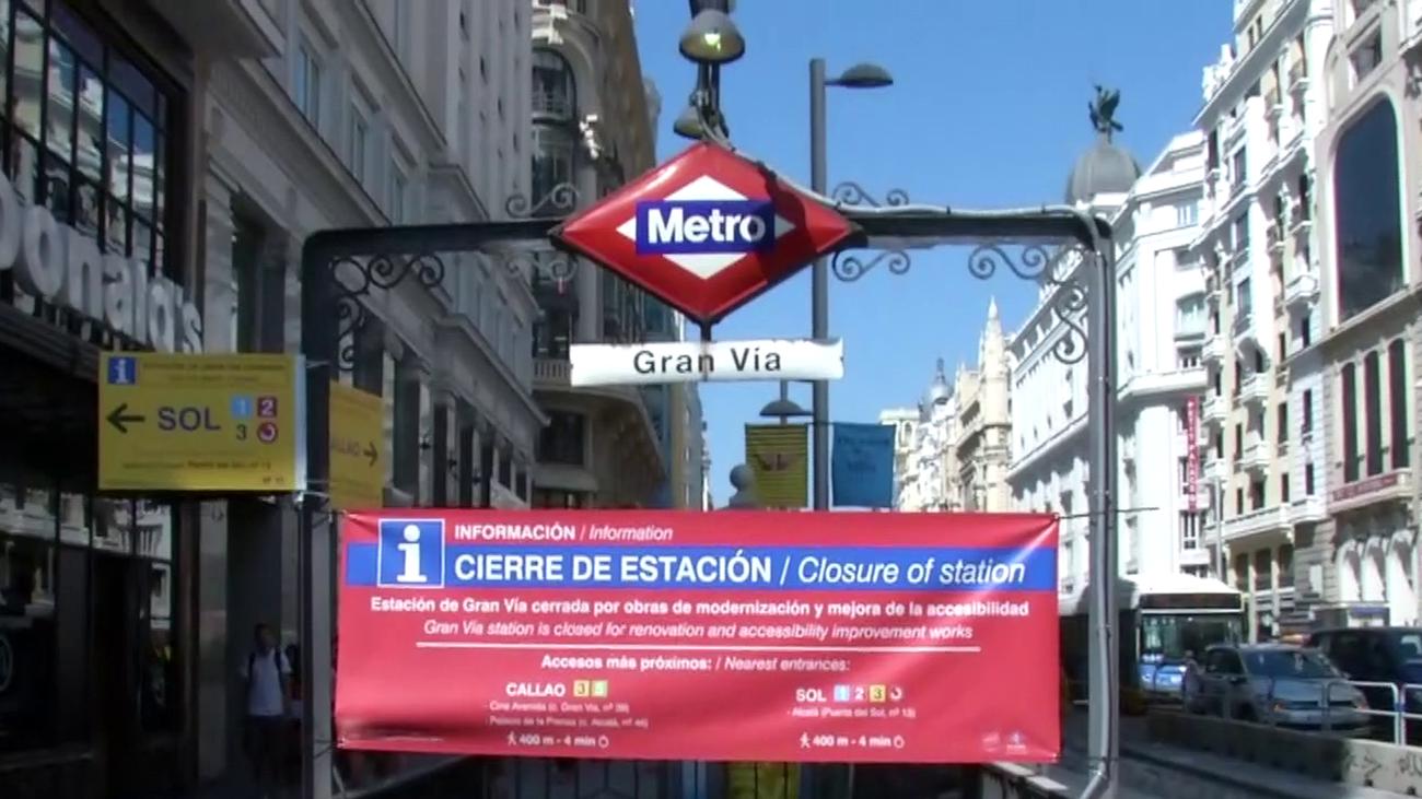Estas son las alternativas para los usuarios del metro Gran Vía, tras su cierre por obras
